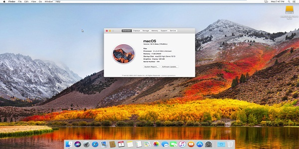 MacOS High Sierra 10 GM Full Crack Mac OSX Keygen