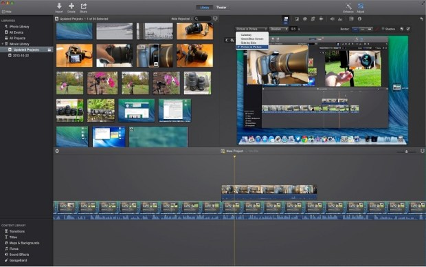 iMovie V10.1.7 For mac free download
