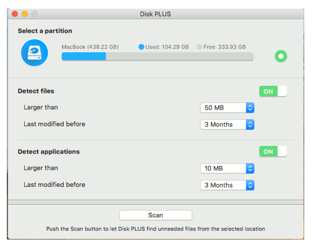 Disk Plus for mac free download