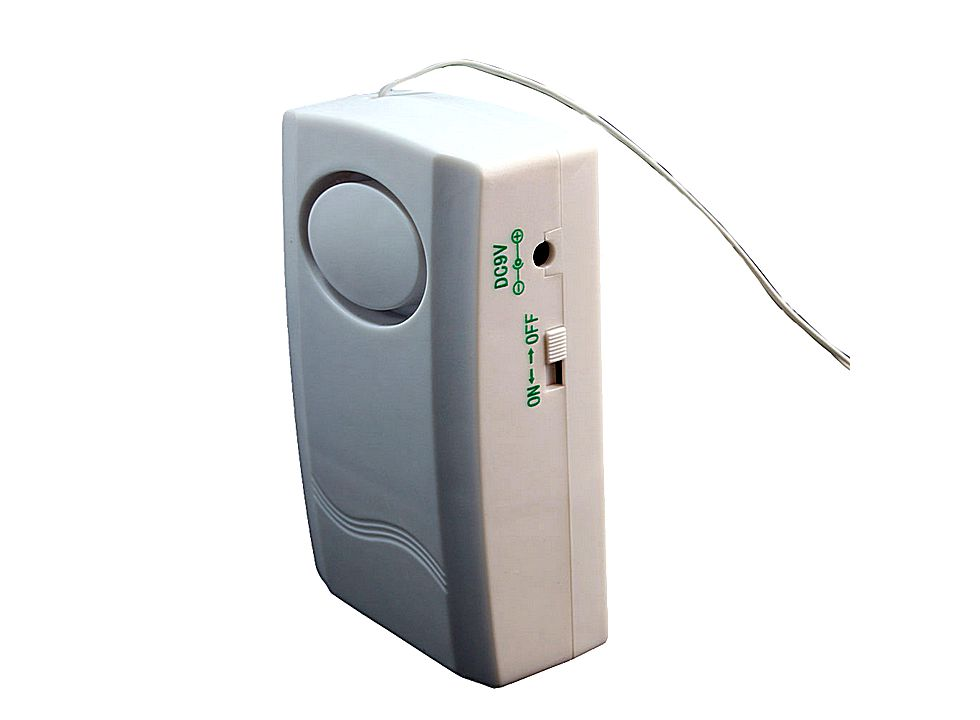Wired Remote Control Door Magnetic Entry Security Alarm
