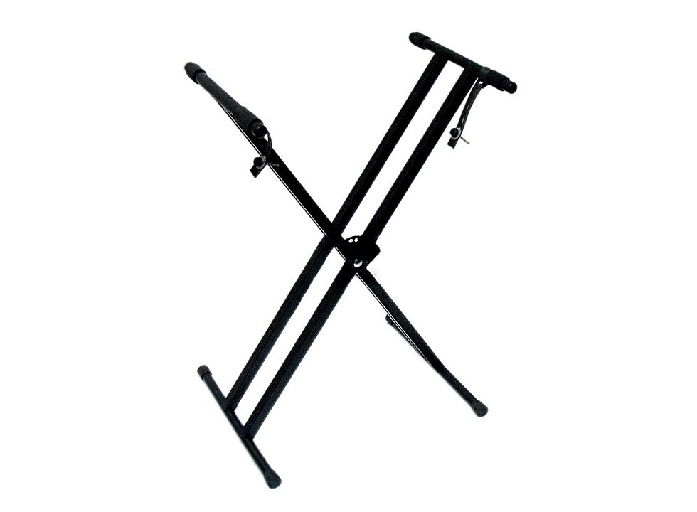 Keyboard Stand Black Dual-tube X-shaped Y00118, Buy at