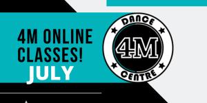 4M July Online Classes