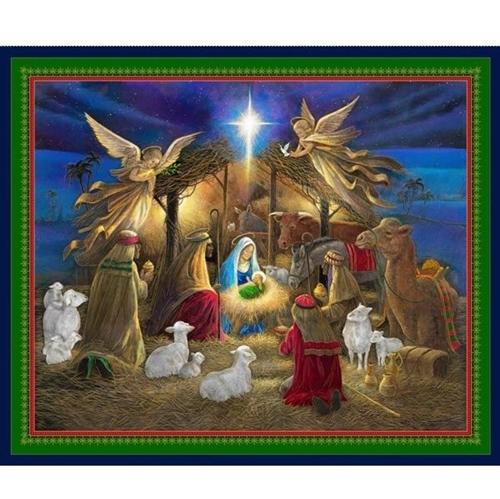 holy night nativity jesus