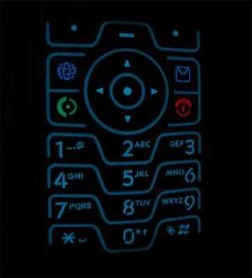 16097 - Motorola RAZR V3 Black