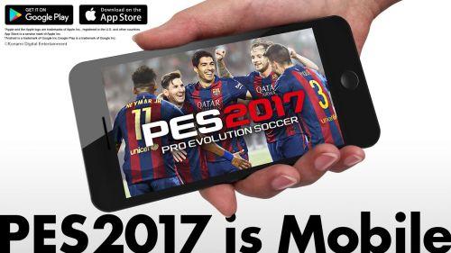 PESmobile - PES 2017 arriva oggi sui dispositivi iOS e Android