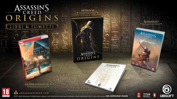 Assassin's CreedOrigins fumetti