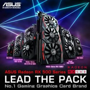 Radeon 300x300 - ASUS annuncia le schede grafiche gaming della serie Radeon RX 500