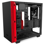 H400i Matte BlackRed Right45 OpenPanel - NZXT presenta la nuova Serie H dei suoi case per PC