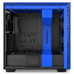 H700i Matte BlackBlue Side no Glass - NZXT presenta la nuova Serie H dei suoi case per PC