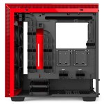 H700i Matte BlackRed Right Open Straight - NZXT presenta la nuova Serie H dei suoi case per PC
