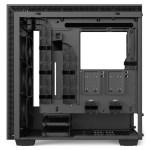 H700i Matte Black Right Open Straight - NZXT presenta la nuova Serie H dei suoi case per PC