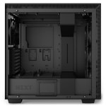H700i Matte Black Side no Glass - NZXT presenta la nuova Serie H dei suoi case per PC