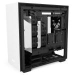 H700i Matte White Right Open - NZXT presenta la nuova Serie H dei suoi case per PC