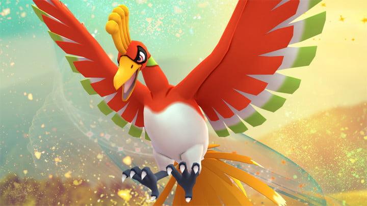 pokemon go ho oh 720x720 - Guida Pokémon Ultrasole e Ultraluna, uso degli Ultravarchi e cattura di tutti i Pokémon Leggendari