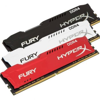 HyperX FURY DDR4 DIMM family1 350x350 - HyperX espande le linee di prodotto FURY DDR4 e Impact DDR4