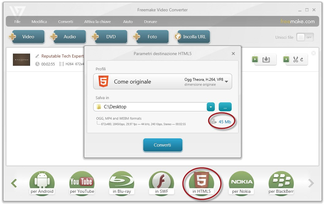 freevideoconverter - Freemake Video Converter: uno strumento universale per la conversione video