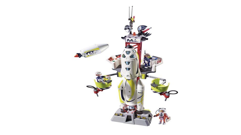 9488 Razzo spaziale con rampa di lancio 1024x576 - Playmobil regala ai più piccoli un Natale spaziale!