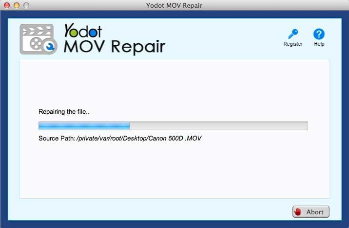 mov screen2 - Recensione del software: Yodot MOV Repair