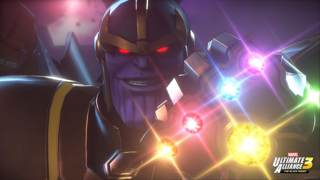 Marvel Ultimate Alliance 3 The Black Order Thanos 1024x576 - Marvel Ultimate Alliance 3: The Black Order - la nostra recensione