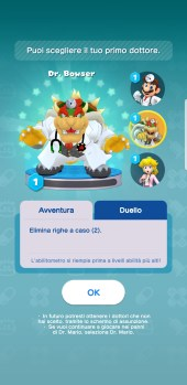 Dr. Mario World Bowser