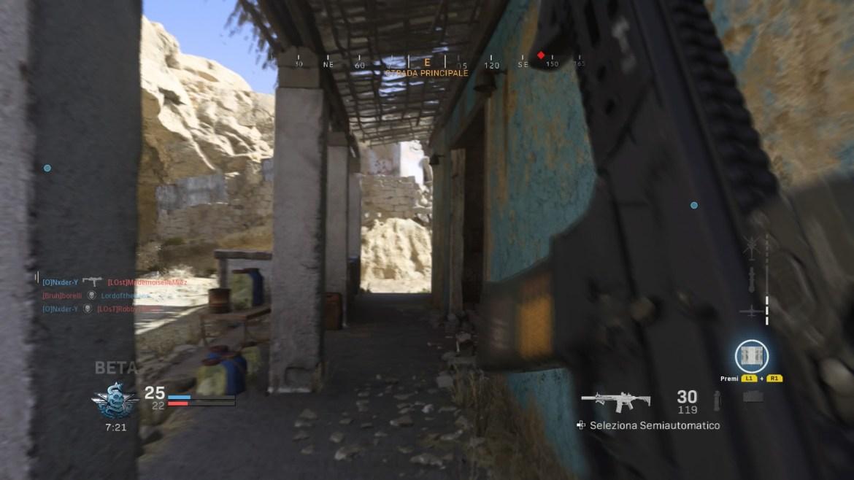 Call of Duty: Modern Warfare Scatto tattico
