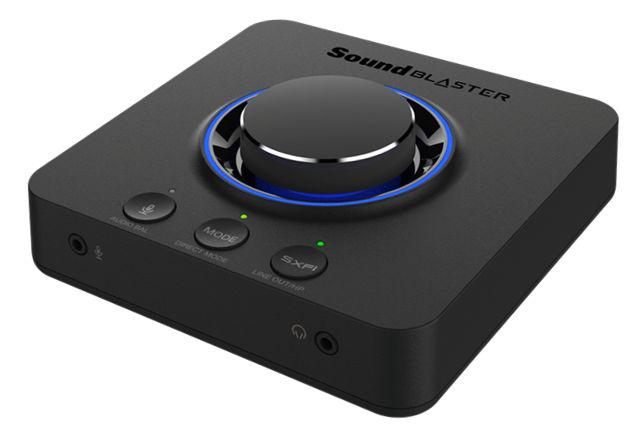 SOUNDBLASTER X3 - Sound Blaster X3: Arriva la prima Sound Blaster con Super X-Fi