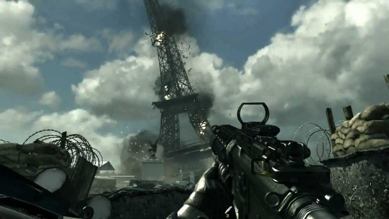 Modern Warfare 3 Torre Eiffel