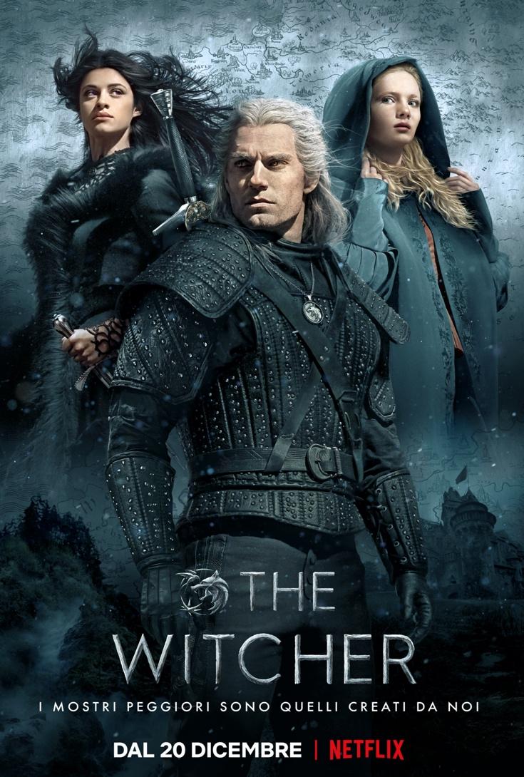 image002 - Netflix, ecco la locandina ufficiale di The Witcher