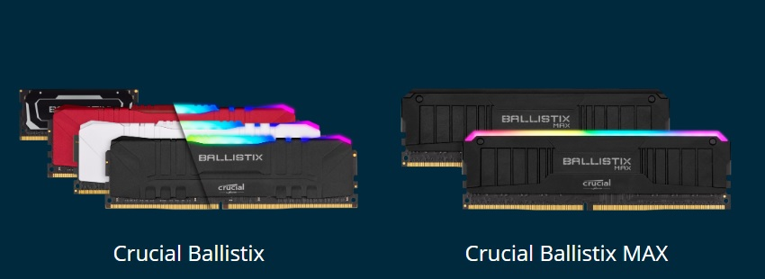 Crucial Ballistix 2020 - Crucial Ballistix rivoluziona la sua gamma di memorie ram da gaming
