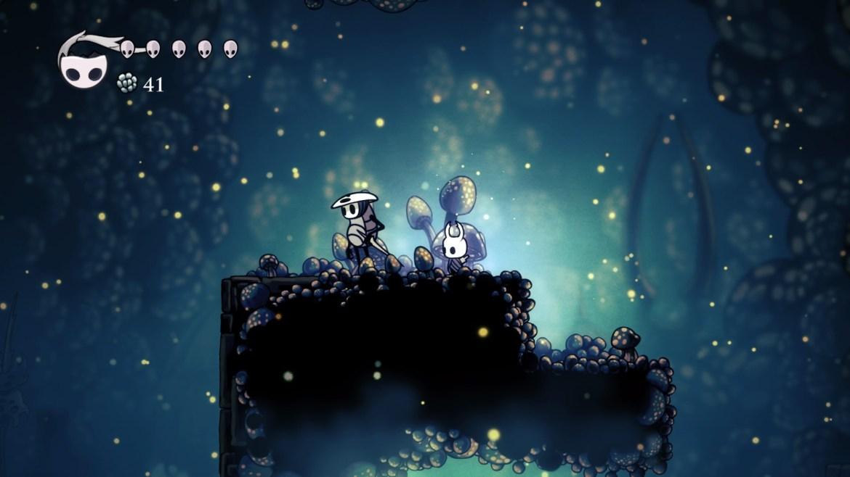 Hollow Knight Quirrel Caverne Fungine
