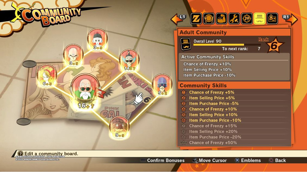 Dragon Ball Z: Kakarot Emiblemi dell'Anima