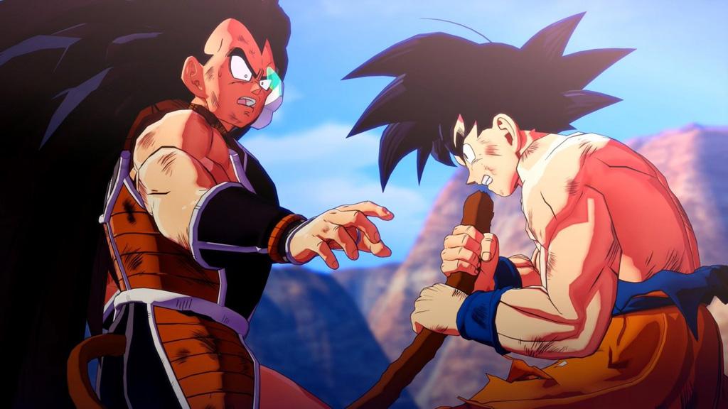 Dragon Ball Z: Kakarot scontro Radish