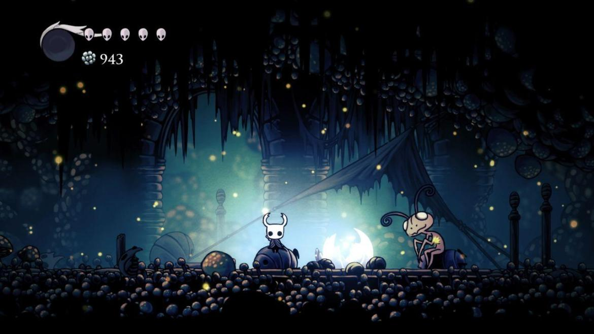 Hollow Knight Mangiazampa