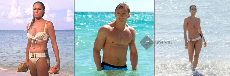 DanielCraigHalleeBerryUrsulaAndress - Ritratto del James Bond di Daniel Craig