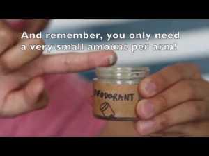 DIY Deodorant [Video]