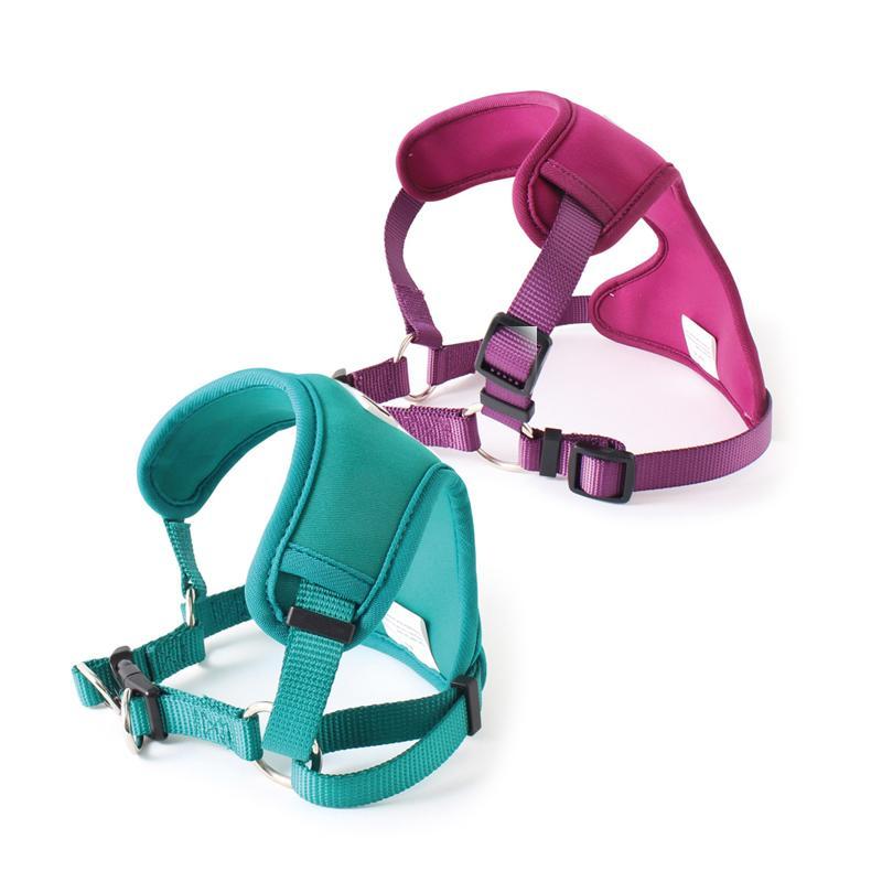 Beide Farben des Neo-Flex Neopren Hundegeschirrs von Doodlebone®