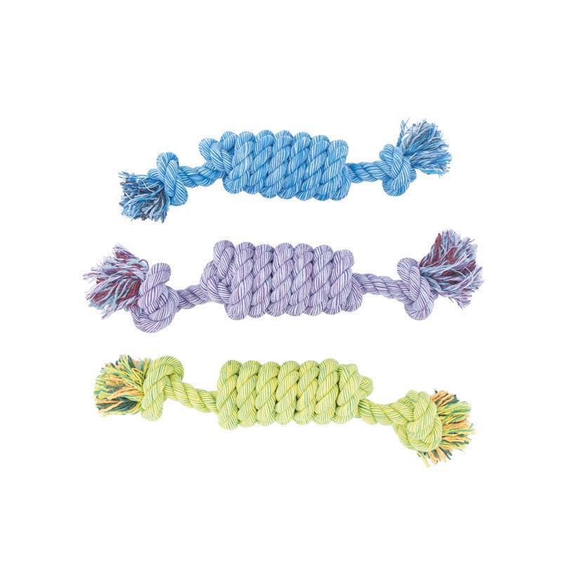 3er Set Nuts for Knots Spule in 3 unterschiedlichen Farben Kingsize von Happy Pet