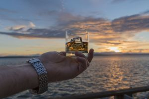 Alkohol beim Bootsfahren