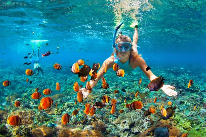 Unterwassertauchen