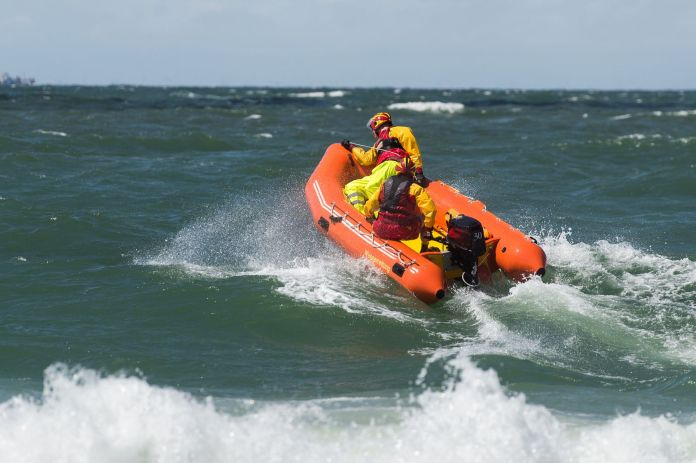 Boot zur Rettung