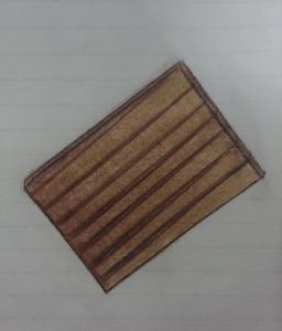 Holzplatte gemalt