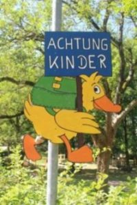 Achtung, Kinder!