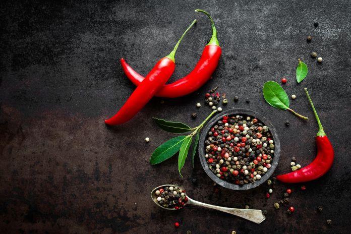 Chili scharf