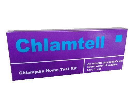 Chlamydien-Schnelltest von Chlamtell Eigentest-Set für Männer und Frauen, Sofortiges Ergebnis