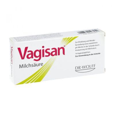 Vaginalzäpfchen Milchsäure Vagisan