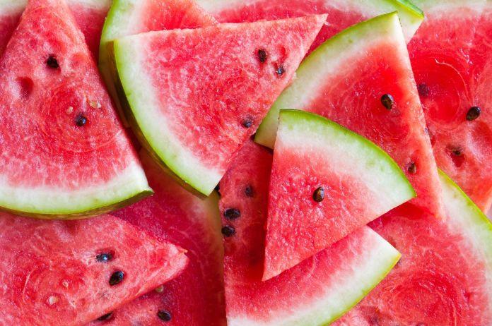 Wassermelonen mit Kerne