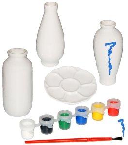 Bastelset 3 Stück kleine Vasen