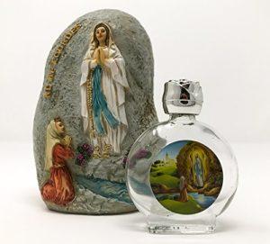 Lourdes Weihwasser Flasche mit Lourdes Wasser