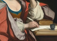 "Angelica Kauffman (Austrian, 1741-1807), ""A Sybil"" (detail)"
