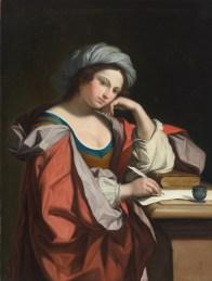 """Angelica Kauffman (Austrian, 1741-1807), """"A Sybil"""""""